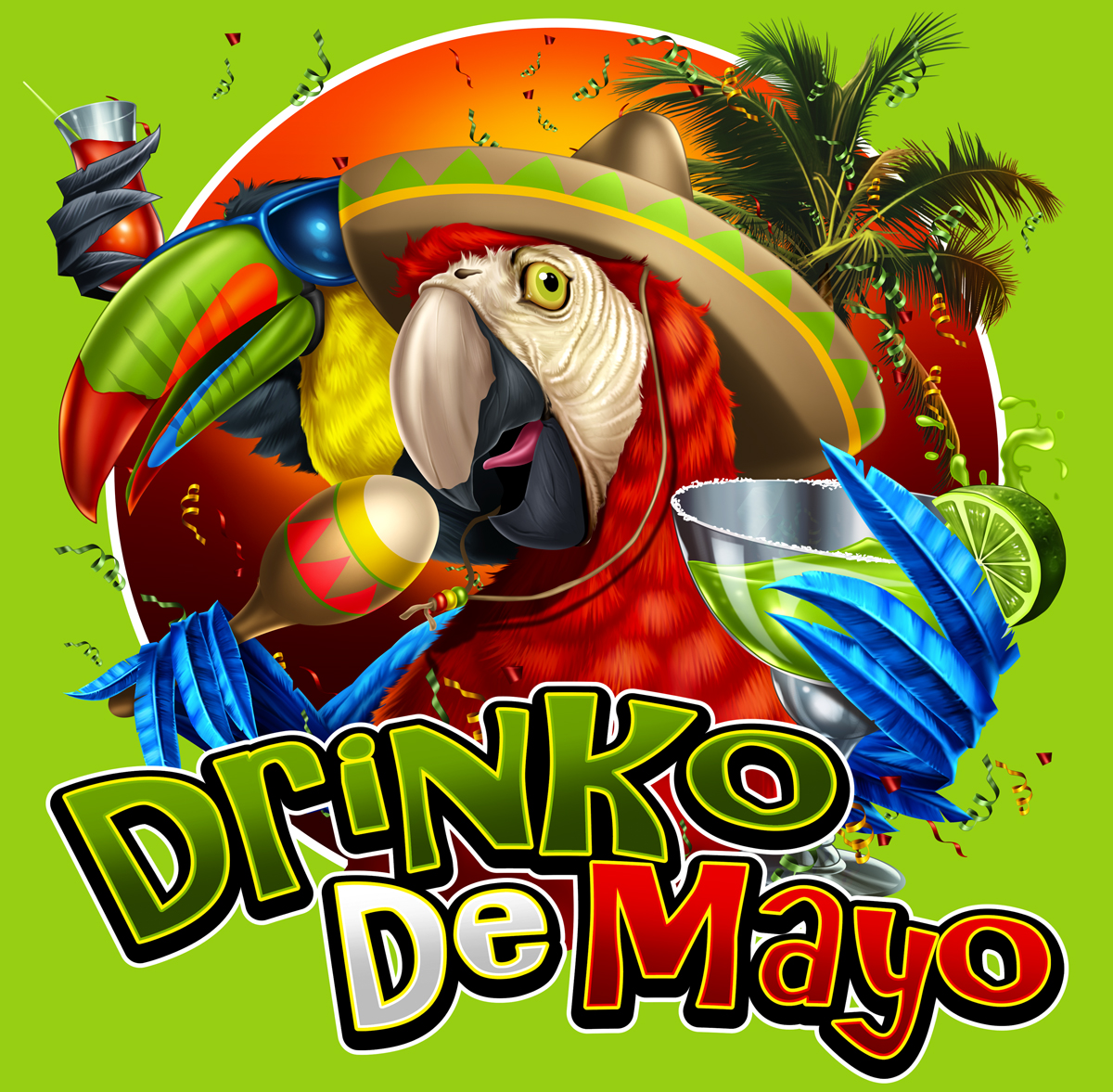 Cinco De Mayo 2016 T Shirts With Custom Front Logo Minimum 12